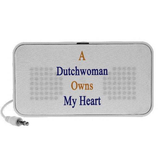 Una holandesa posee mi corazón portátil altavoces