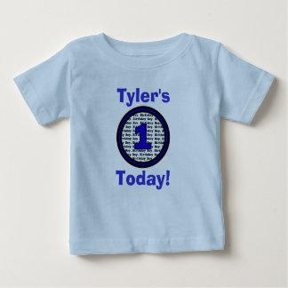 Una hoy camisa del cumpleaños