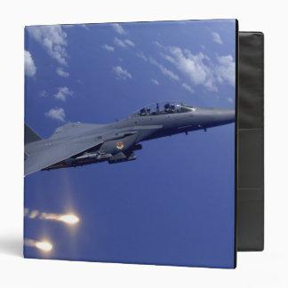 Una huelga Eagle de la fuerza aérea F-15E