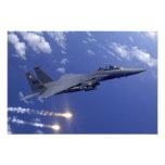 Una huelga Eagle de la fuerza aérea F-15E Fotografía