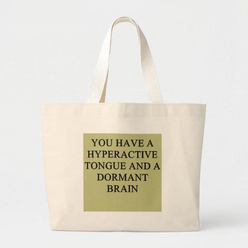 una idea divertida del divorcio para usted bolsas