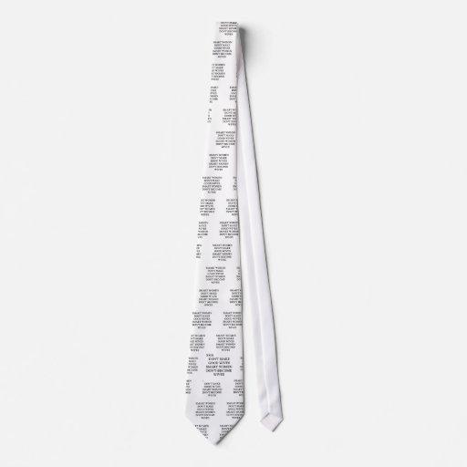 ¡una idea divertida del divorcio para usted! corbatas