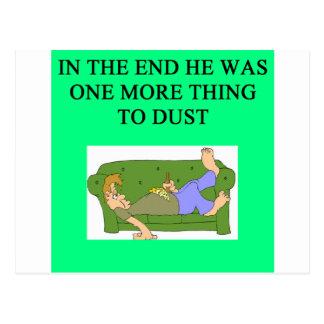 una idea divertida del divorcio para usted postales