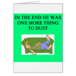una idea divertida del divorcio para usted felicitacion