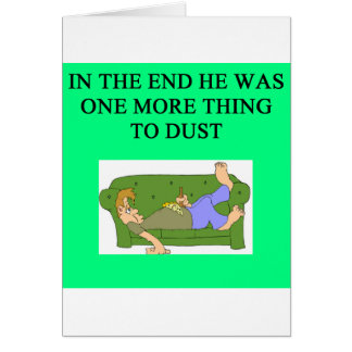 una idea divertida del divorcio para usted tarjeta de felicitación