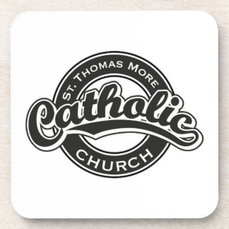 Una iglesia más católica de St Thomas blanco y Posavasos
