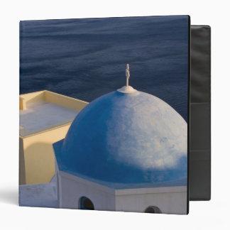 """Una iglesia ortodoxa cerca del mar, Oia Santorini Carpeta 1 1/2"""""""