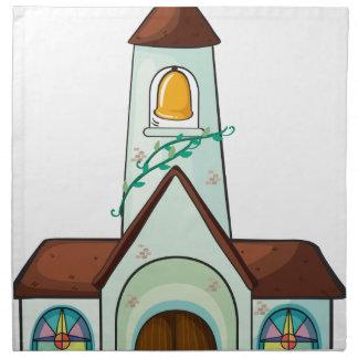 una iglesia servilletas