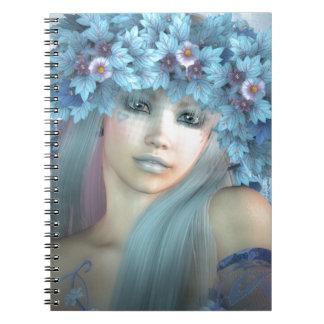 Una ilustración de un duende notebook