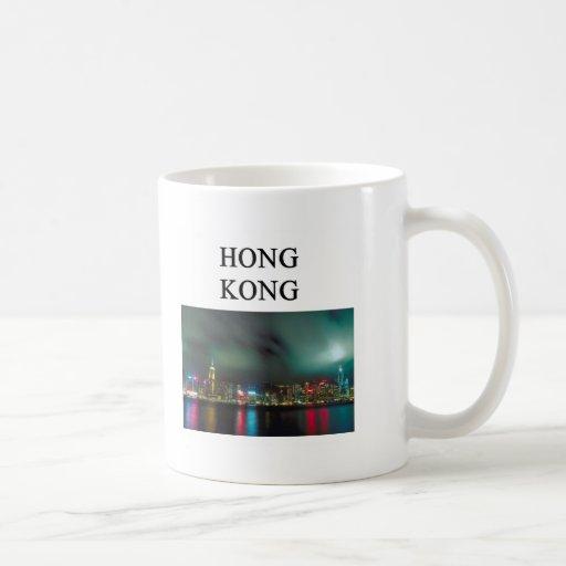 una imagen agradable del kong del homg taza básica blanca