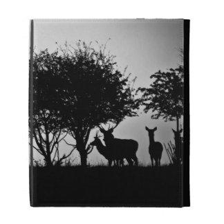 Una imagen de algunos ciervos en la niebla de la m