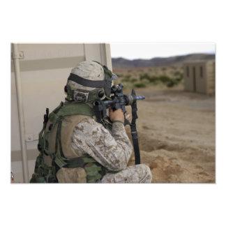 Una infantería explora arte fotografico