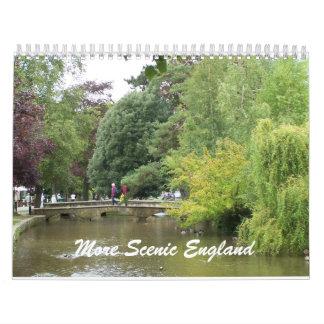 Una Inglaterra más escénica Calendario