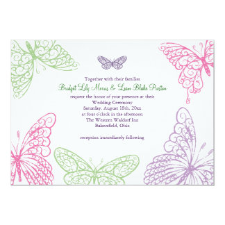 Una invitación 2 del boda del alboroto del corazón