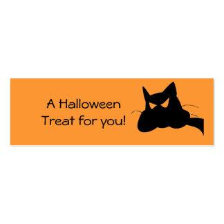 ¡Una invitación de Halloween para usted! Tarjetas De Visita Mini