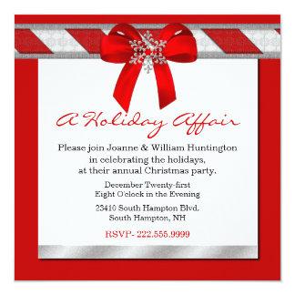 Una invitación de la fiesta de Navidad del asunto