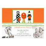 Una invitación juguetona del fiesta de Halloween