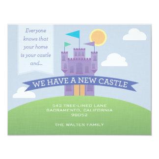 Una invitación móvil del nuevo castillo