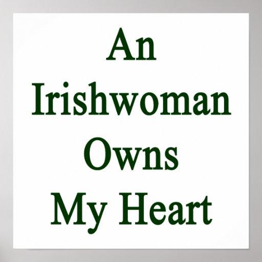 Una irlandesa posee mi corazón poster