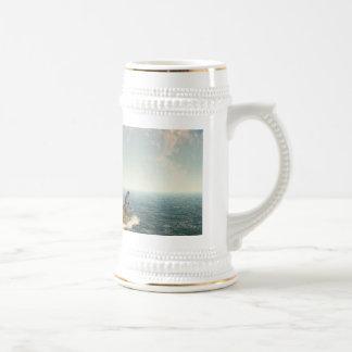 Una isla del árbol taza de café