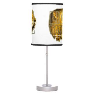 "Una lámpara de mesa MÁS DOMÉSTICA del ""LEÓN de Inn"