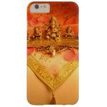 Una lámpara india con el ídolo de Ganesha Funda De iPhone 6 Plus Barely There
