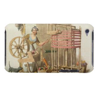 Una lana Skeiner de la mujer, grabado por el artis Case-Mate iPod Touch Coberturas