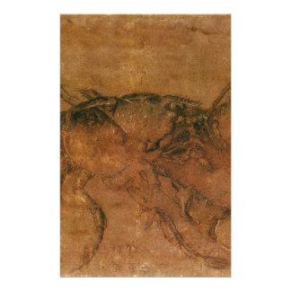 Una langosta de Albrecht Durer Papeleria Personalizada