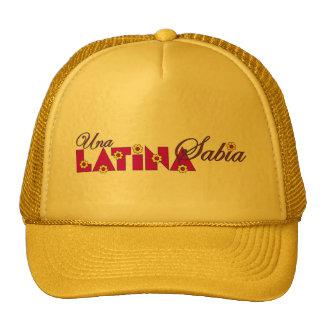 Una Latina Sabia Gorro De Camionero