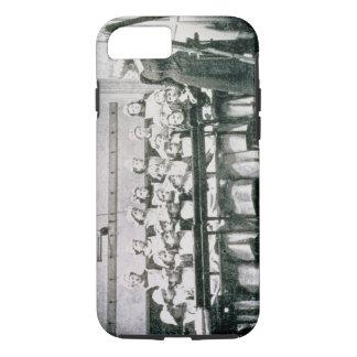 Una lección en la ciencia nacional (foto del b&w) funda iPhone 7