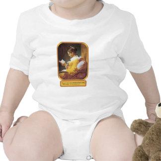 Una lectura de la hora traje de bebé