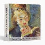 Una lectura del chica de Pierre-Auguste Renoir