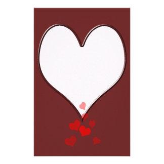Una letra de amor de los amores papeleria personalizada