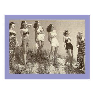Una línea de bellezas postales