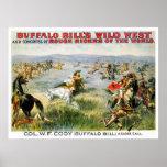 Una llamada cercana - Buffalo Bill Posters