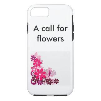 Una llamada para las flores funda iPhone 7