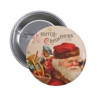 Una llamada telefónica de Santa de las Felices Nav Pin