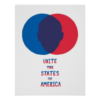 Una los estados de América Póster