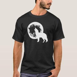 Una luna del lobo playera