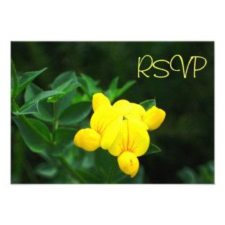 Una luz tenue de la tarjeta de RSVP de la esperanz Invitaciones Personales