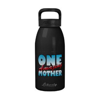 Una madre asombrosa botella de beber