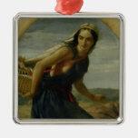 Una madre israelí, 1857/1860 adorno para reyes