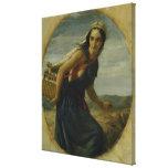 Una madre israelí, 1857/1860 impresión en lona