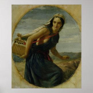 Una madre israelí, 1857/1860 impresiones