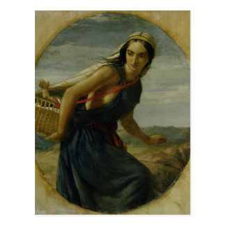 Una madre israelí, 1857/1860 postales