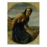 Una madre israelí, 1857/1860 tarjetas postales