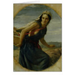 Una madre israelí, 1857/1860 tarjetón