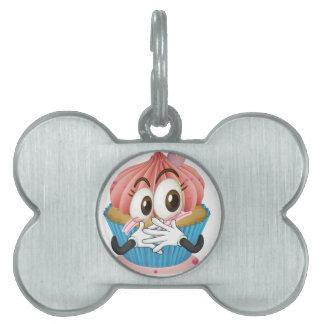una magdalena placas de mascota