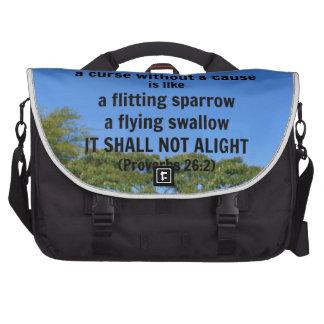 Una maldición sin una causa bolsas para portátil