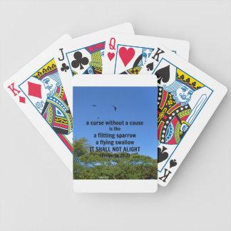 Una maldición sin una causa cartas de juego